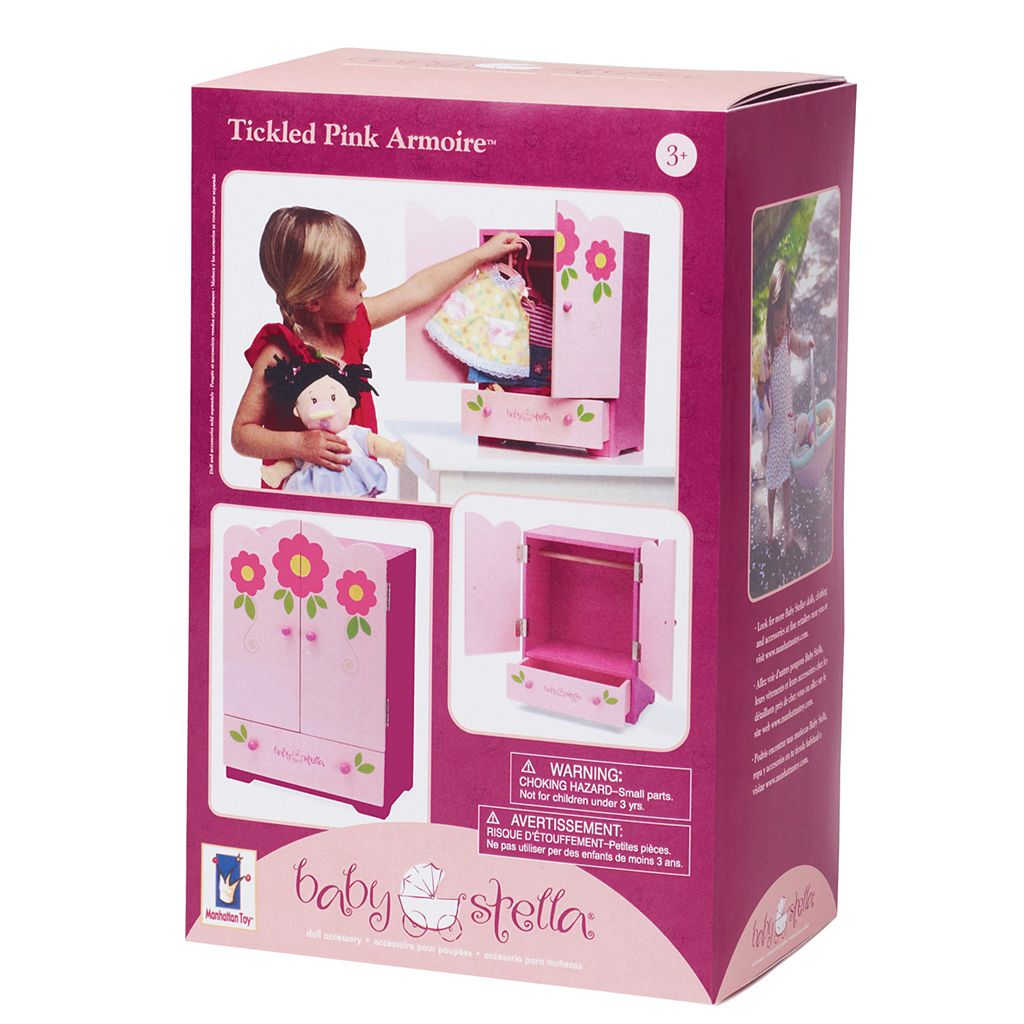 Baby Stella Tickled Pink Armoire by Manhattan Toy