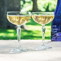 Cathy's Concepts 2 pc Coupe Champagne Glass Set