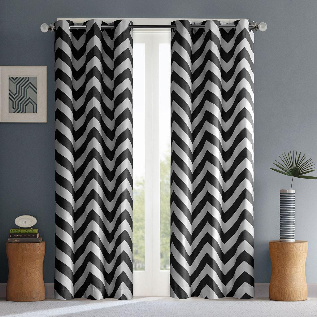 Mi Zone Pisces Room Darkening Curtain Pair - 42'' x 84''