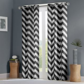 Mi Zone Pisces Room Darkening Window Curtain Pair - 42'' x 84''