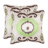 Giselle 2 pc Throw Pillow Set