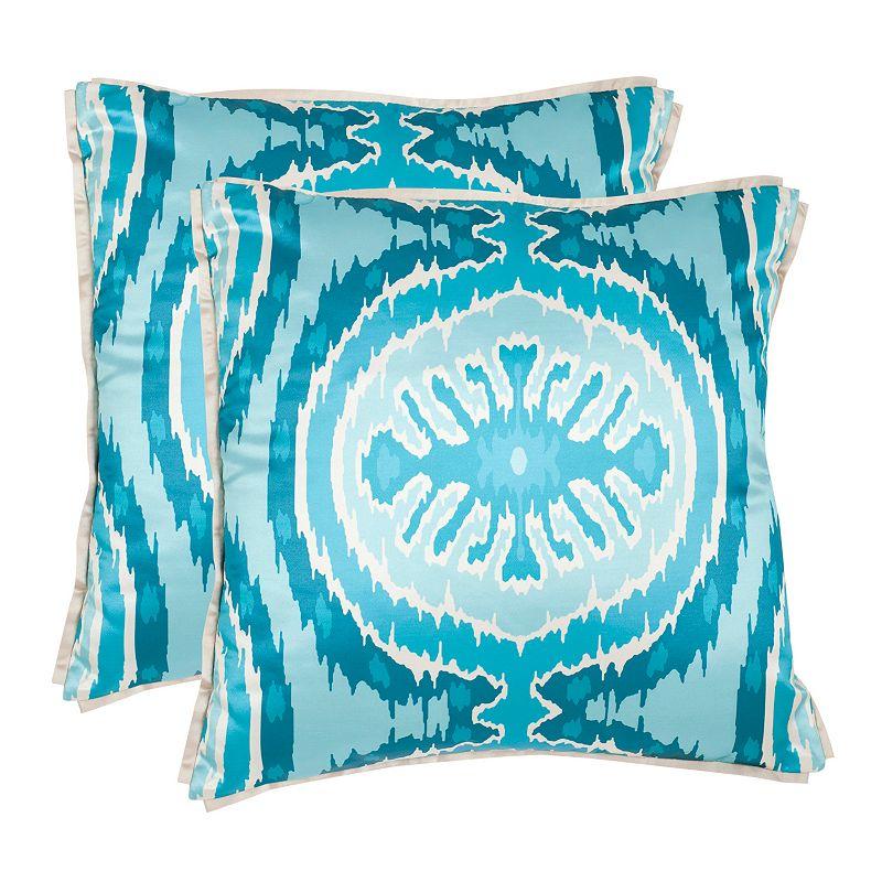 Throw Pillow Kohls : Blue Polyester Throw Pillow Set Kohl s