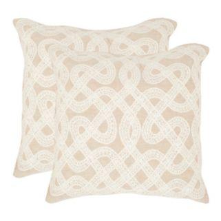 Lola 2-piece 18'' x 18'' Throw Pillow Set