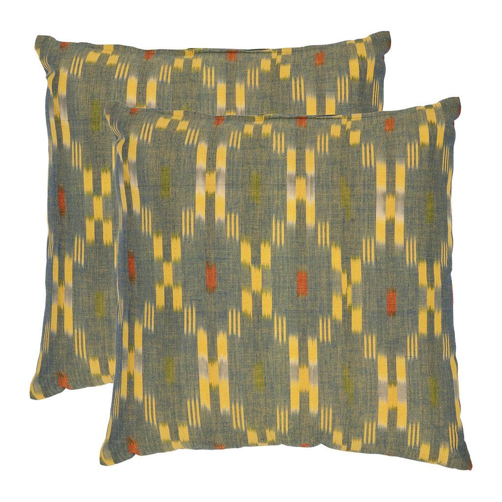 Jay 2-piece 18'' x 18'' Throw Pillow Set