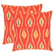 Iris 2-piece 22'' x 22'' Throw Pillow Set