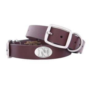 Zep-Pro Nebraska Cornhuskers Concho Leather Dog Collar - L