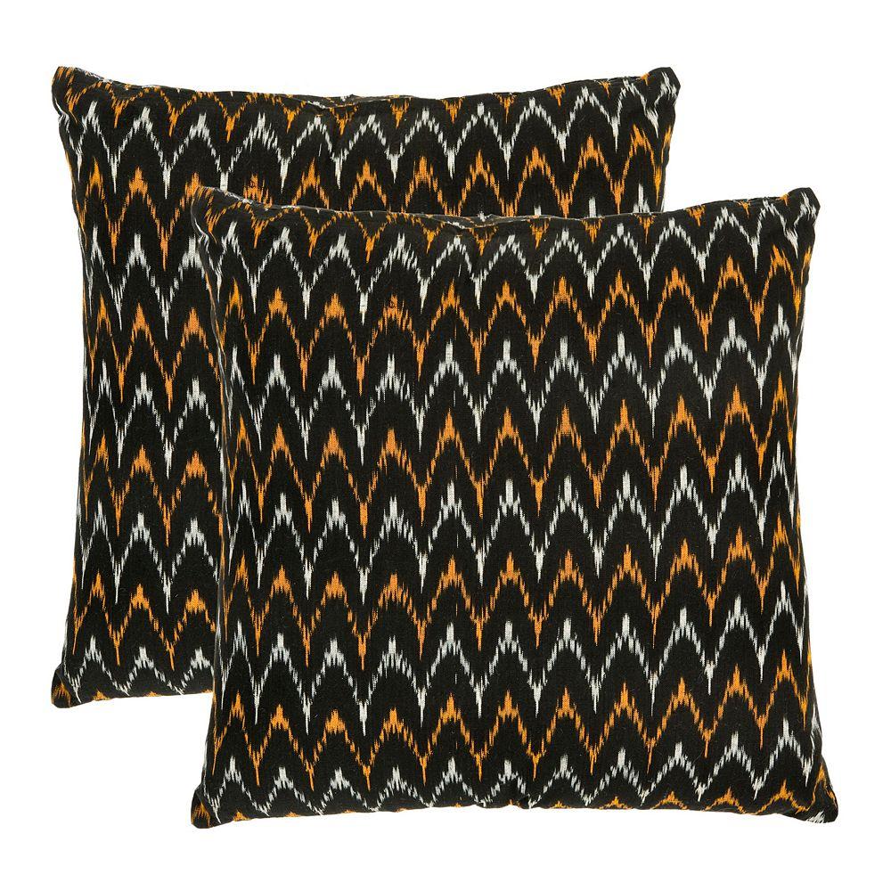 Ryder 2-piece 18'' x 18'' Throw Pillow Set