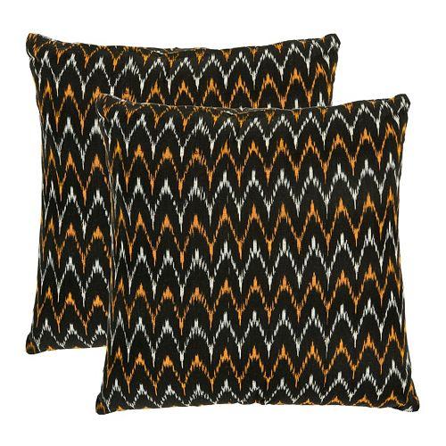 Ryder 2-piece 22'' x 22'' Throw Pillow Set