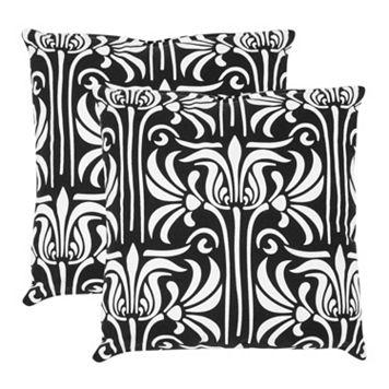 Alfie 2-piece 18'' x 18'' Throw Pillow Set