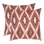 Sophie 2 pc 18'' x 18'' Throw Pillow Set