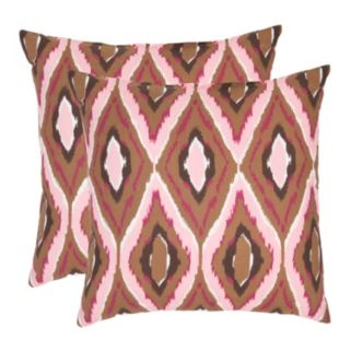 Sophie 2-piece 18'' x 18'' Throw Pillow Set