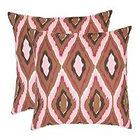 Sophie 2 pc 22'' x 22'' Throw Pillow Set