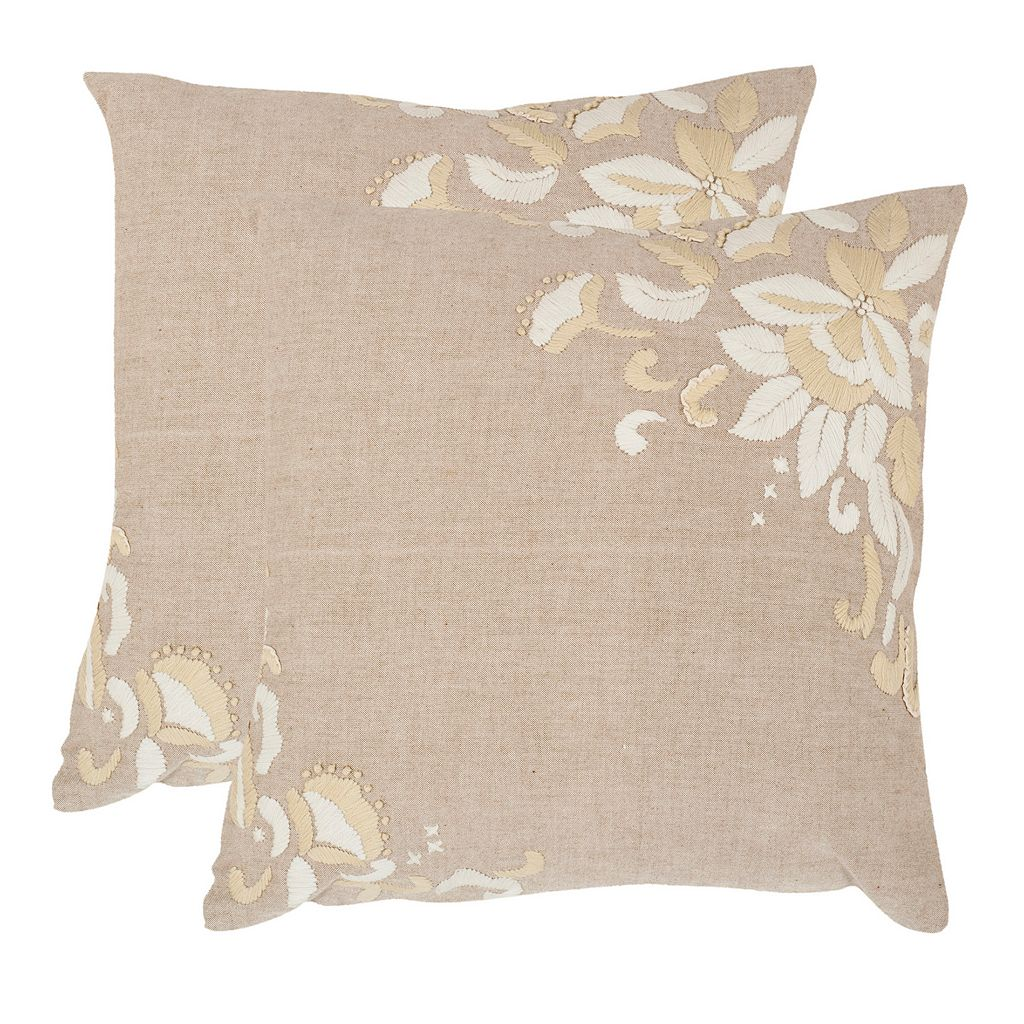 Victoria 2-piece 20'' x 20'' Throw Pillow Set