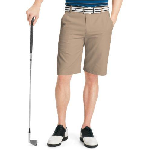 Men's IZOD Classic-Fit Solid Micro Twill Performance Golf Shorts