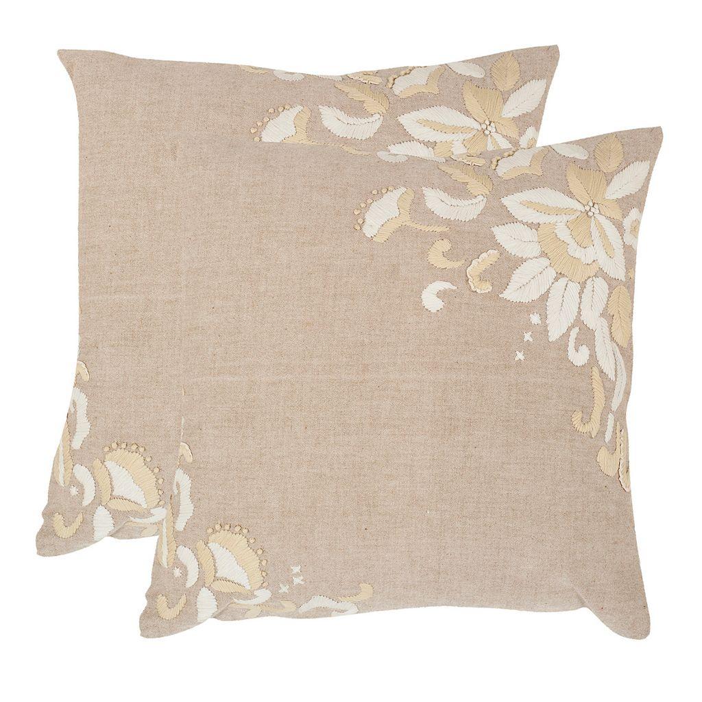 Victoria 2-piece 22'' x 22'' Throw Pillow Set