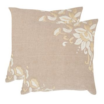 Victoria 2-piece 22'' x 22'' Throw Pillow Set