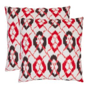 Argyle 2-piece 18'' x 18'' Throw Pillow Set