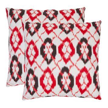 Argyle 2-piece 18'' x 18'' Throw Pillow Set