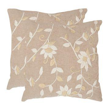 Vallie 2-piece 18'' x 18'' Throw Pillow Set