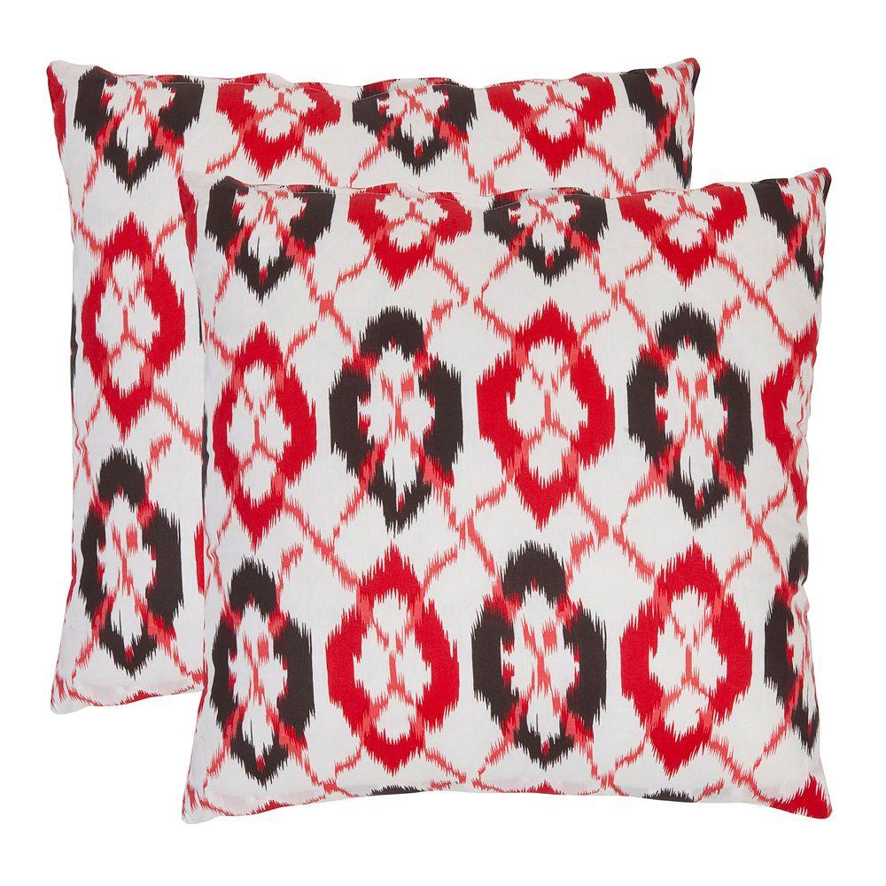 Argyle 2-piece 22'' x 22'' Throw Pillow Set