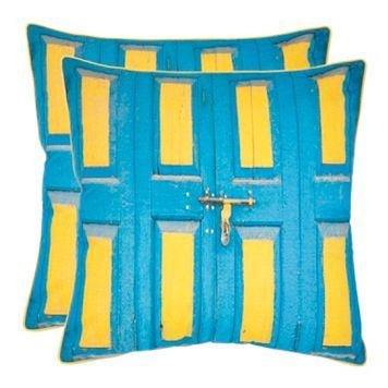 Nador 2-piece 18'' x 18'' Throw Pillow Set