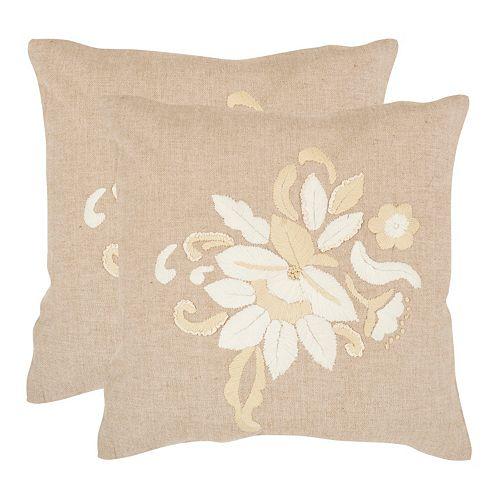 June 2-piece 18'' x 18'' Throw Pillow Set