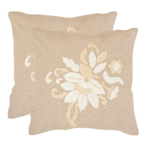 June 2-piece 18'' x 18'' Throw Pillow Set