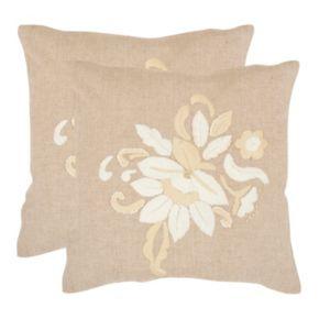 June 2-piece 22'' x 22'' Throw Pillow Set