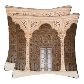 Novara 2-piece 18'' x 18'' Throw Pillow Set