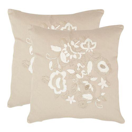 April 2-piece 20'' x 20'' Throw Pillow Set