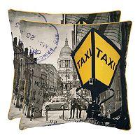 Belgrade 2-piece 18'' x 18'' Throw Pillow Set