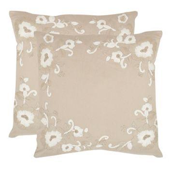 Jenny 2-piece 22'' x 22'' Throw Pillow Set