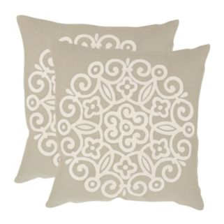 Joanna 2-piece 18'' x 18'' Throw Pillow Set
