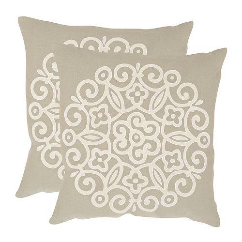 Joanna 2-piece 20'' x 20'' Throw Pillow Set