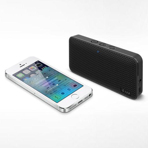 iLuv Portable Slim Bluetooth Wireless Speaker