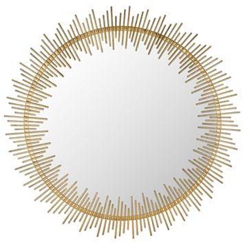 Safavieh Sun Ray Circle Wall Mirror