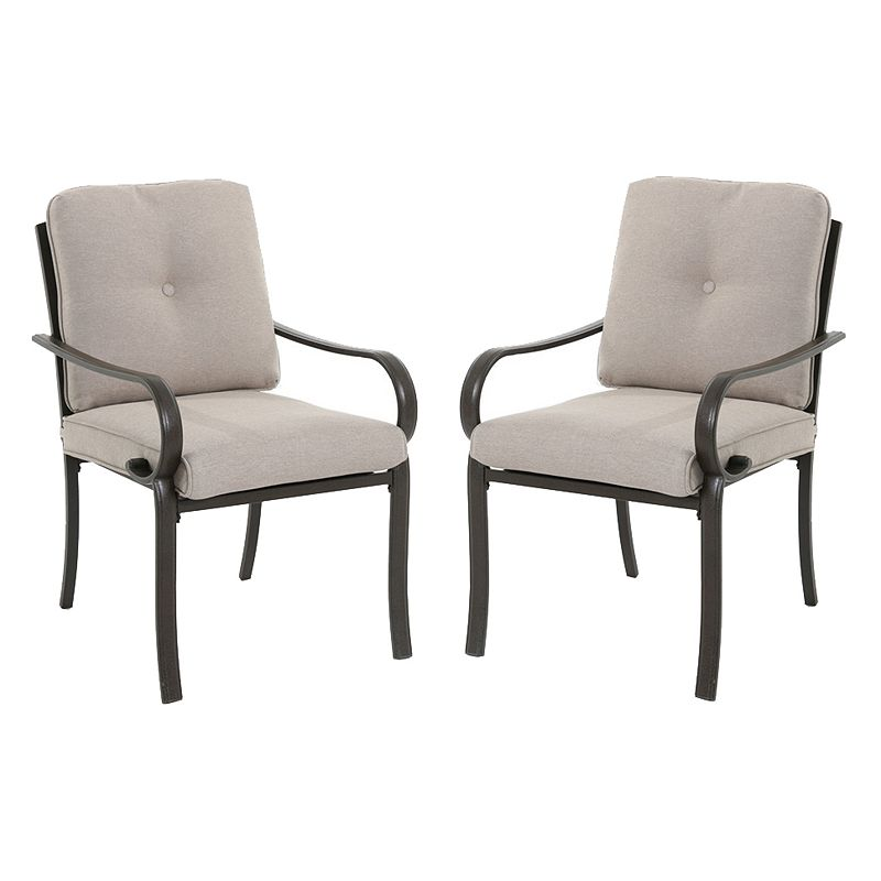 sonoma outdoors 2 piece claremont patio chair set