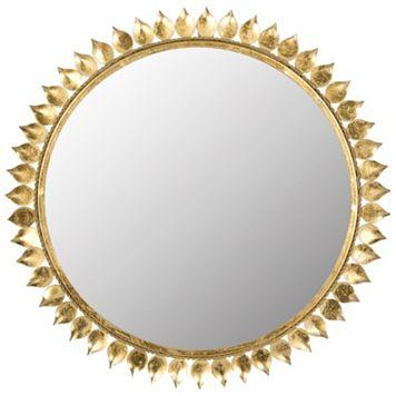Safavieh Leaf Crown Starburst Wall Mirror