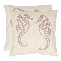 Dahli Seahorse 2 pc Throw Pillow Set