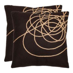 Coiled Darter 2-piece Throw Pillow Set