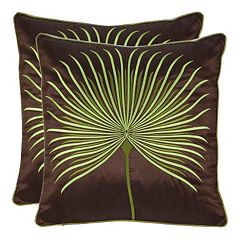 Leste Verte 2 pc Throw Pillow Set