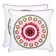 Sunder 2 pc Throw Pillow Set