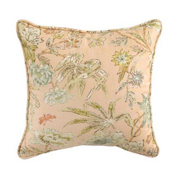 Waverly Cape Coral Reversible Throw Pillow
