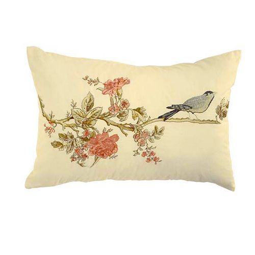 Waverly Cape Coral Embroidered Throw Pillow