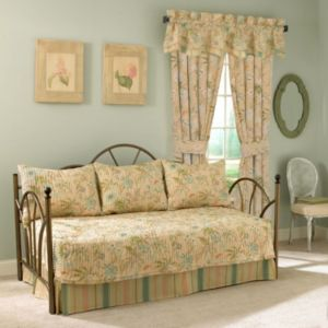 Waverly Cape Coral 5-pc. Reversible Daybed Quilt Set