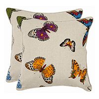 Emilie 2-piece 22'' x 22'' Throw Pillow Set