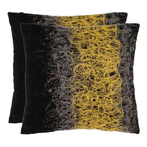 Dubios 2-piece Throw Pillow Set