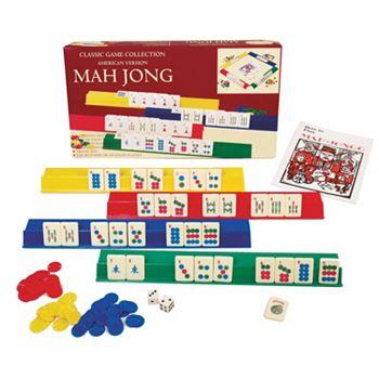 Mah Jong Plastic Game Set
