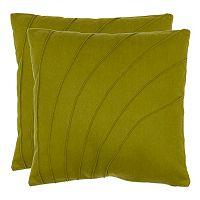 Flora 2 pc Throw Pillow Set