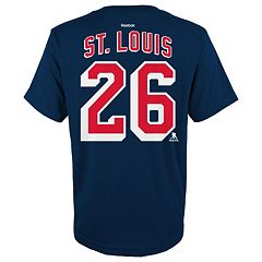 Boys 8-20 Reebok New York Rangers Martin St. Louis Player Tee
